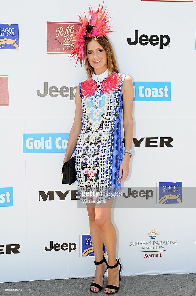 <a gi-track='captionPersonalityLinkClicked' href=/galleries/search?phrase=Kate+Waterhouse&family=editorial&specificpeople=208104 ng-click='$event.stopPropagation()'>Kate Waterhouse</a> attends Magic Millions Raceday at Gold Coast Turf Club on January 12, 2013 on the Gold Coast, Australia.