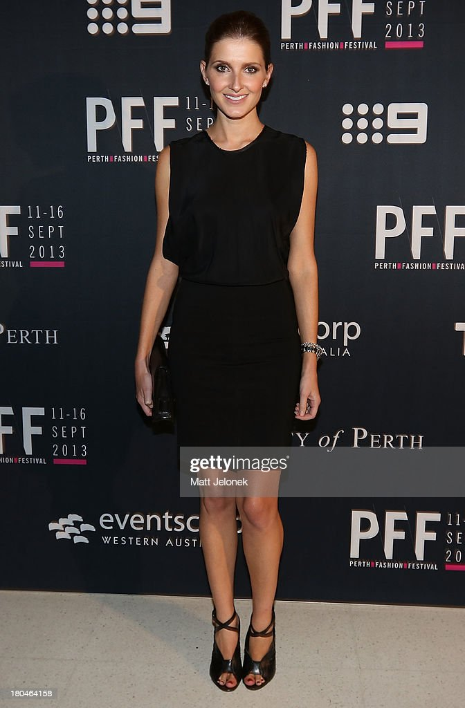 Kate Waterhouse attends Perth Fashion Festival at The Western Australian Museum on September 13, 2013 in Perth, Australia.