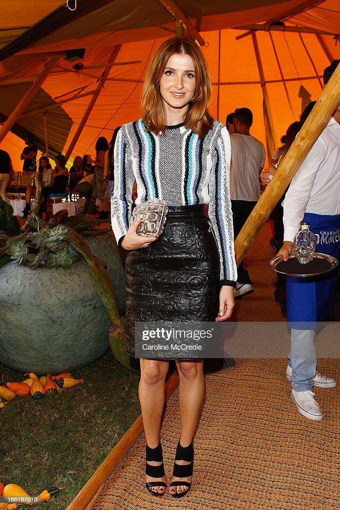 Kate Waterhouse attends the Camilla show during Mercedes-Benz Fashion Week Australia Spring/Summer 2013/14 at Centennial Park on April 10, 2013 in Sydney, Australia.