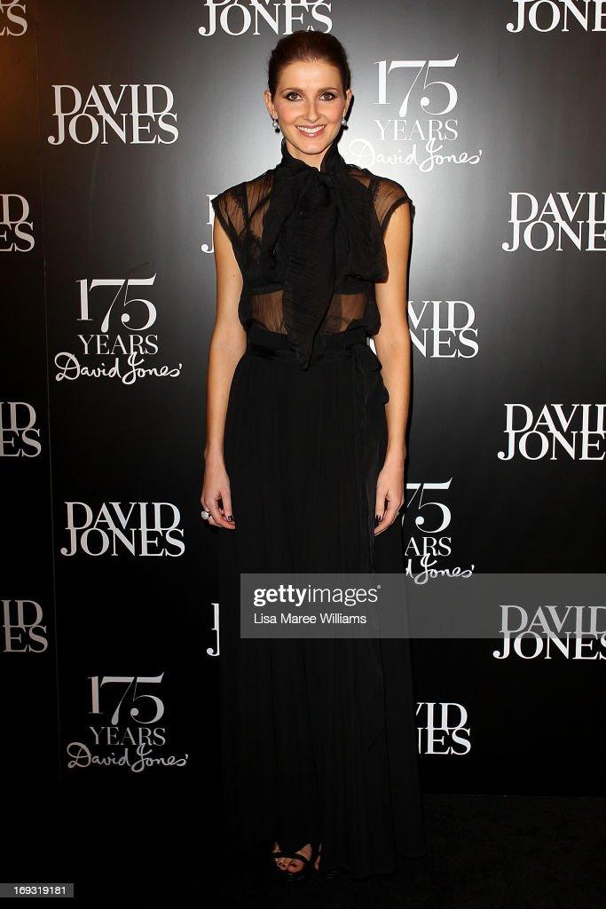 Kate Waterhouse attends the David Jones 175 year celebration at David Jones on May 23, 2013 in Sydney, Australia.