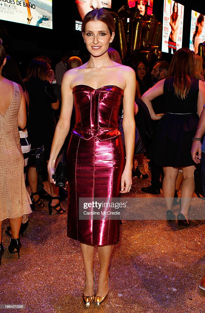 Kate Waterhouse attends the Hello Elle Australia show after party during Mercedes-Benz Fashion Week Australia Spring/Summer 2013/14 at Carriageworks on April 12, 2013 in Sydney, Australia.