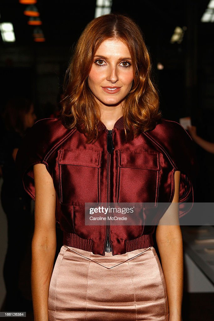 Kate Waterhouse attends the Manning Cartell show during Mercedes-Benz Fashion Week Australia Spring/Summer 2013/14 at The Shed, Carriageworks on April 9, 2013 in Sydney, Australia.