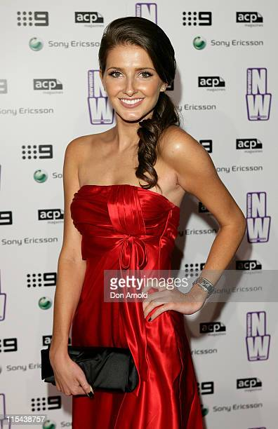 Kate Waterhouse attends the NW party to celebrate the 80th Annual Academy Awards at The Hilton Grand Ballroom on February 25 2008 in Sydney Australia