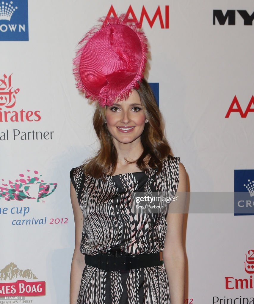 Kate Waterhouse attends the The 2012 Melbourne Cup Carnival Launch at Crown Palladium on October 29, 2012 in Melbourne, Australia.