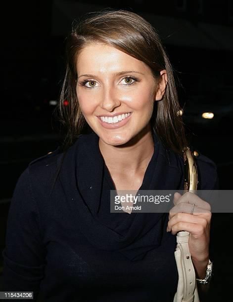Kate Waterhouse during the launch for the Dotti summer 07 range on September 20 2007 in Sydney Australia