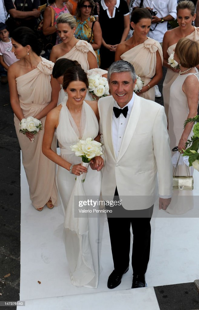 <a gi-track='captionPersonalityLinkClicked' href=/galleries/search?phrase=Kate+Waterhouse&family=editorial&specificpeople=208104 ng-click='$event.stopPropagation()'>Kate Waterhouse</a> her wedding to Luke Ricketson on June 28, 2012 in Taormina, Italy.