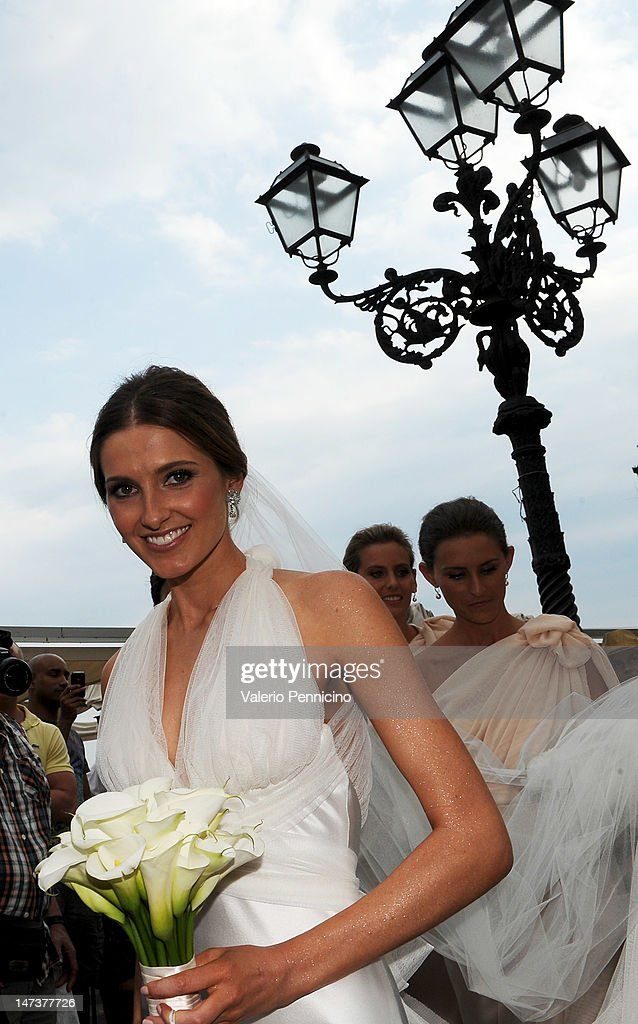 Kate Waterhouse her wedding to Luke Ricketson on June 28, 2012 in Taormina, Italy.