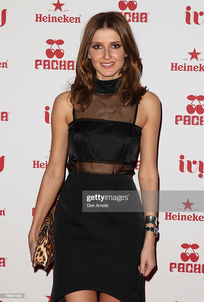 Kate Waterhouse poses at the Pacha Launch at the Ivy on November 24, 2012 in Sydney, Australia.