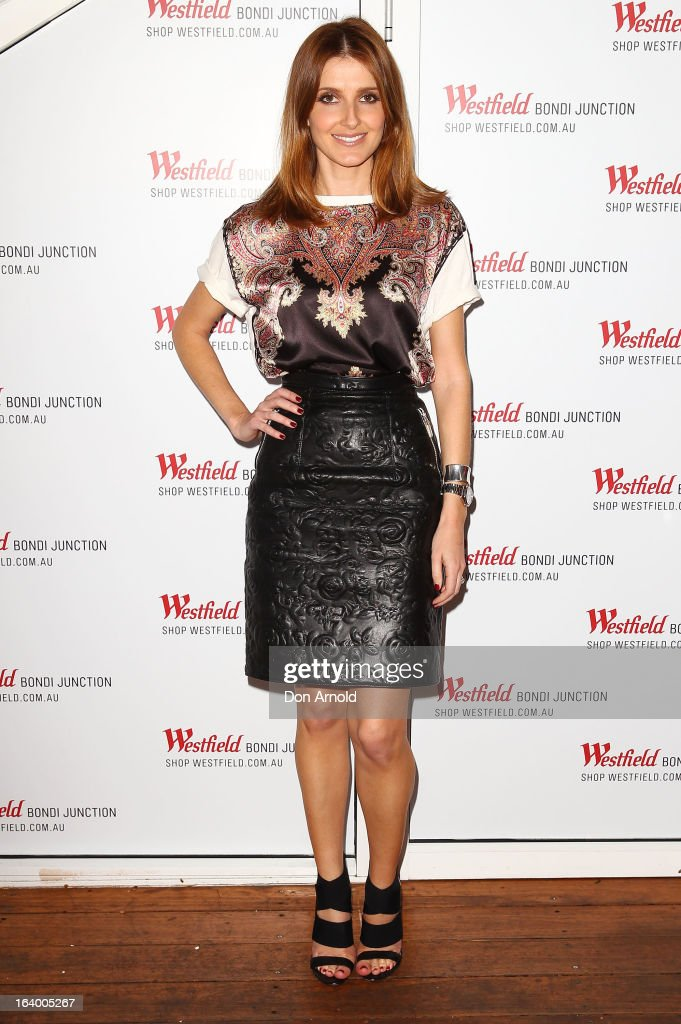 Kate Waterhouse poses at the Westfield Autumn/Winter 2013 launch at Pelicano Bar on March 19, 2013 in Sydney, Australia.