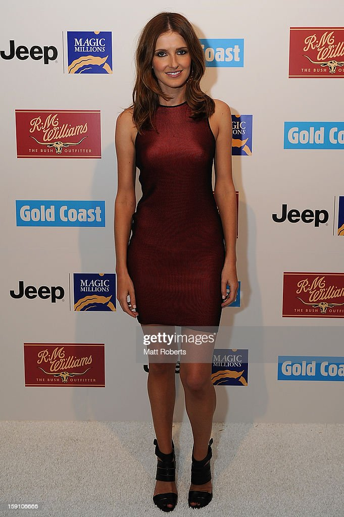 Kate Waterhouse poses during the Magic Millions Opening Night cocktail party at Surfers Paradise foreshore on January 8, 2013 in Surfers Paradise, Australia.