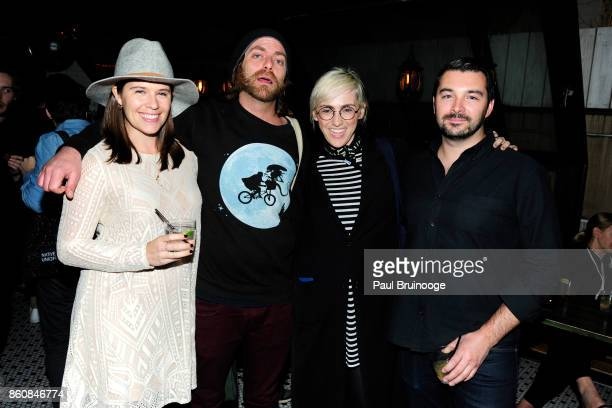 Kate Whittington Teddy Duvall Julie Logan and Devin Quinn attend Espolòn Tequila Hosts Celebration in Partnership with Ai Weiwei Exodus Exhibit at...
