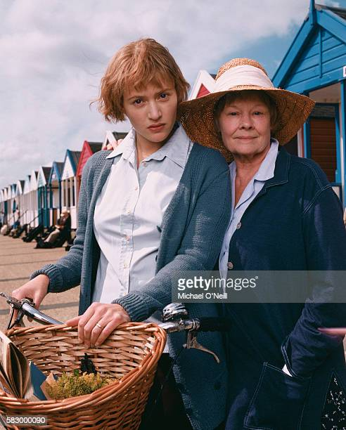 Kate Winslet and Judi Dench both play author Iris Murdoch in the movie Iris