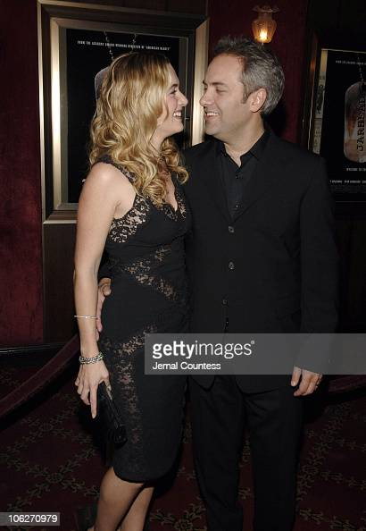 Kate Winslet and Sam Mendes Director during 'Jarhead' New York City Premiere Inside Arrivals at Ziegfeld's in New York City New York United States
