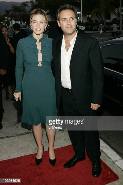 Kate Winslet and Sam Mendes during 2004 Santa Barbara International Film Festival 'Finding Neverland' Premiere at The Lobero Theatre in Santa Barbara...