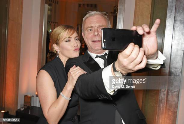 Kate Winslet and Stephen Daldry attend Harper's Bazaar Women of the Year Awards in association with Ralph Russo Audemars Piguet and MercedesBenz at...