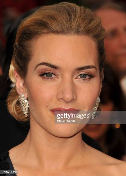 Kate Winslet arrives at the 81st Academy Awards at The Kodak Theatre on February 22 2009 in Hollywood California