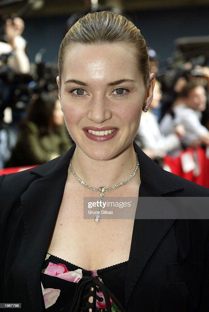 <a gi-track='captionPersonalityLinkClicked' href=/galleries/search?phrase=Kate+Winslet&family=editorial&specificpeople=201923 ng-click='$event.stopPropagation()'>Kate Winslet</a> arrives at the Opening Night of 'Gypsy' on Broadway at The Shubert Theatre on May 1, 2003 in New York City.