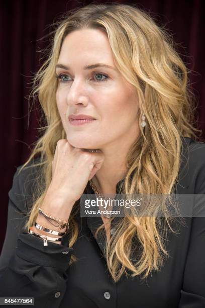 Kate Winslet at 'The Mountain Between Us' Press Conference at the Ritz Carlton Hotel on September 9 2017 in Toronto Canada