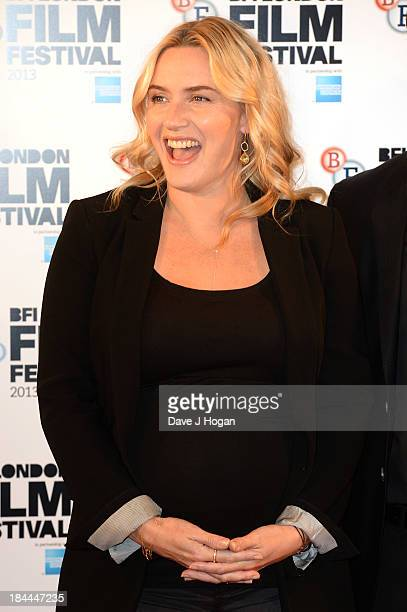 Kate Winslet attends a photocall for 'Labor Day' during the 57th BFI London Film Festival at The Mayfair Hotel on October 14 2013 in London England