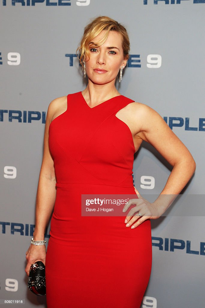 <a gi-track='captionPersonalityLinkClicked' href=/galleries/search?phrase=Kate+Winslet&family=editorial&specificpeople=201923 ng-click='$event.stopPropagation()'>Kate Winslet</a> attends a special screening of 'Triple 9' at Ham Yard Hotel on February 9, 2016 in London, England.