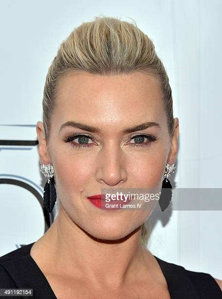 Kate Winslet attends the 53rd New York Film Festival 'Steve Jobs' at Alice Tully Hall Lincoln Center on October 3 2015 in New York City
