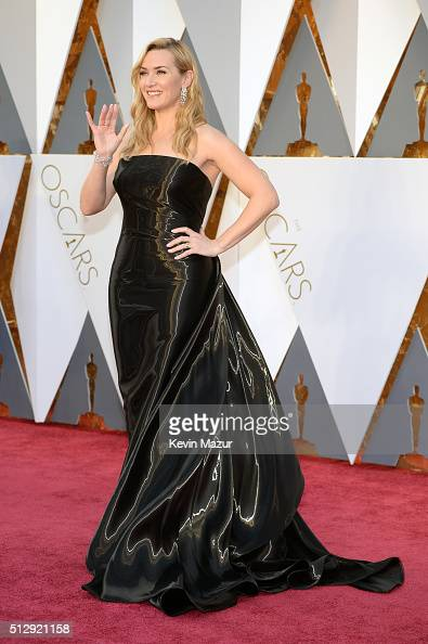 Kate Winslet attends the 88th Annual Academy Awards at Hollywood Highland Center on February 28 2016 in Hollywood California