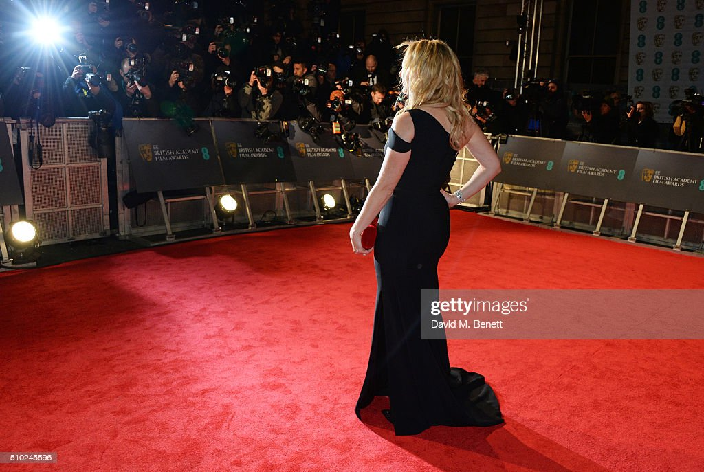<a gi-track='captionPersonalityLinkClicked' href=/galleries/search?phrase=Kate+Winslet&family=editorial&specificpeople=201923 ng-click='$event.stopPropagation()'>Kate Winslet</a> attends the EE British Academy Film Awards at The Royal Opera House on February 14, 2016 in London, England.