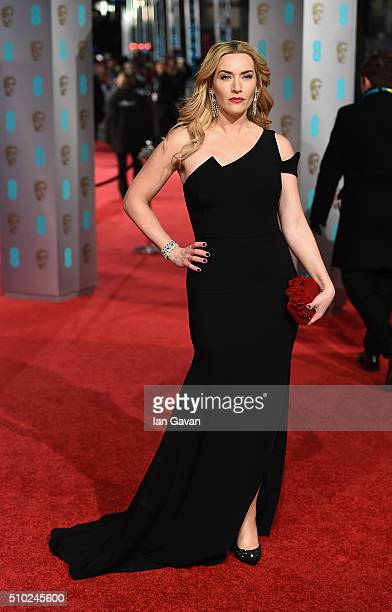 Kate Winslet attends the EE British Academy Film Awards at the Royal Opera House on February 14 2016 in London England