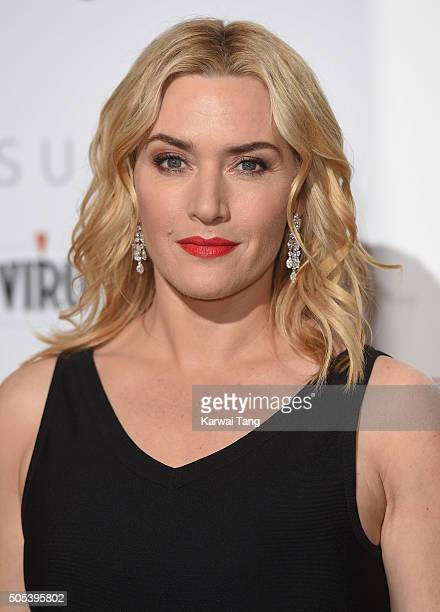 Kate Winslet attends The London Critics' Circle Film Awards at The Mayfair Hotel on January 17 2016 in London England