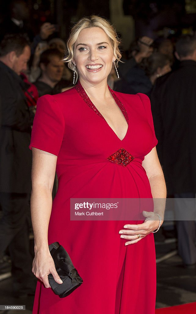 <a gi-track='captionPersonalityLinkClicked' href=/galleries/search?phrase=Kate+Winslet&family=editorial&specificpeople=201923 ng-click='$event.stopPropagation()'>Kate Winslet</a> attends the Mayfair Gala European Premiere of 'Labor Day' during the 57th BFI London Film Festival at Odeon Leicester Square on October 14, 2013 in London, England.