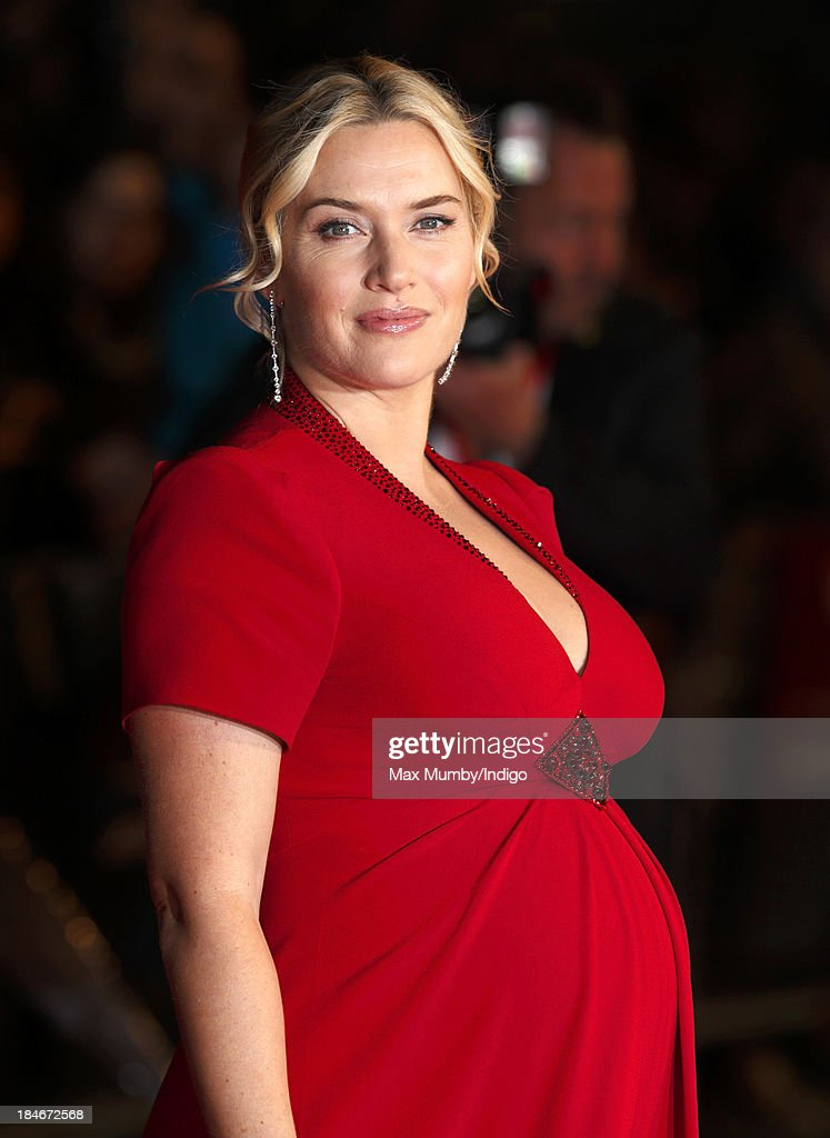 Kate Winslet attends the Mayfair Gala European Premiere of 'Labor Day' during the 57th BFI London Film Festival at Odeon Leicester Square on October 14, 2013 in London, England.