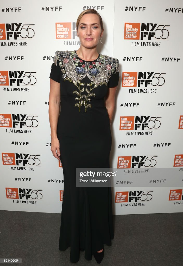 Kate Winslet attends the NYFF premiere of 'Wonder Wheel' at Alice Tully Hall on October 14, 2017 in New York City.