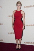 Kate Winslet attends the premiere of 'Carnage' at Cinema Gaumont Marignan on November 20 2011 in Paris France