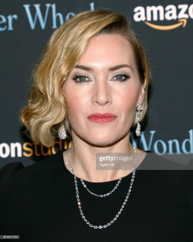 Kate Winslet attends the premiere of 'Wonder Wheel' at Museum of Modern Art on November 14, 2017 in New York City.