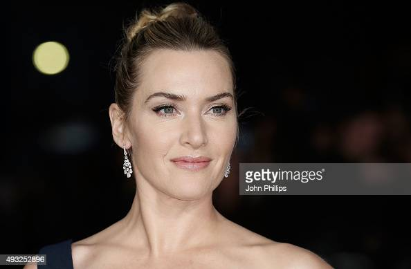 Kate Winslet attends the 'Steve Jobs' Closing Night Gala during the BFI London Film Festival at Odeon Leicester Square on October 18 2015 in London...