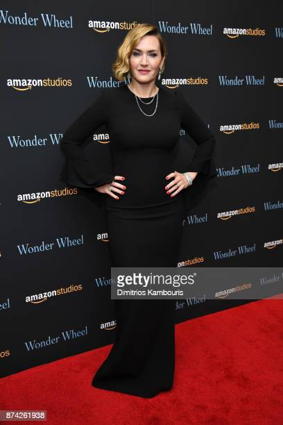 Kate Winslet attends the 'Wonder Wheel' screening at Museum of Modern Art on November 14 2017 in New York City