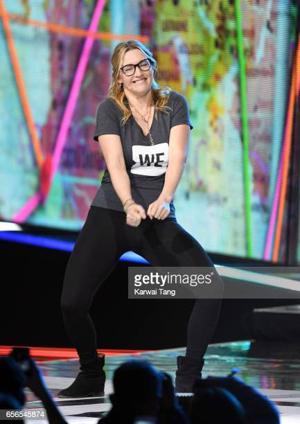 Kate Winslet attends WE Day UK at The SSE Arena on March 22 2017 in London United Kingdom