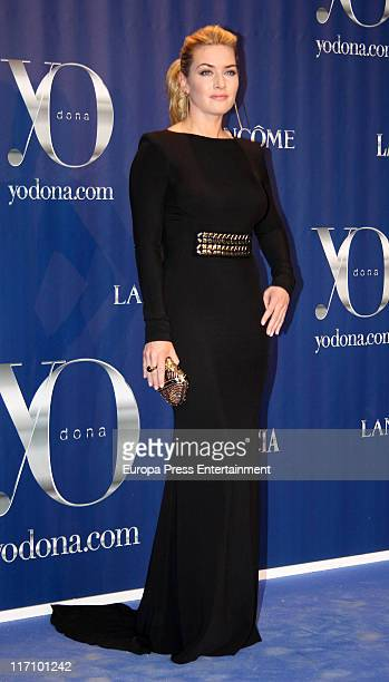 Kate Winslet attends 'Yo Dona Awards 2011' in Madrid on June 21 2011 in Madrid Spain