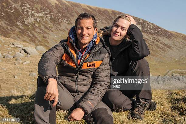 GRYLLS 'Kate Winslet' Episode 204 Pictured Bear Grylls Kate Winslet