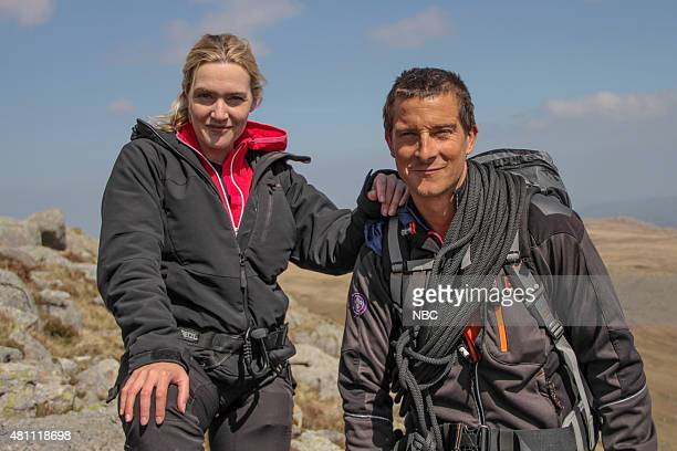 GRYLLS 'Kate Winslet' Episode 204 Pictured Kate Winslet Bear Grylls