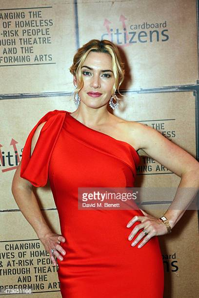 Kate Winslet hosts a fundraising dinner for Cardboard Citizens raising money for their new season of theatre working with homeless people at The...