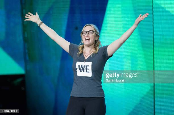 Kate Winslet speaks during WE Day UK on March 22 2017 in London United Kingdom