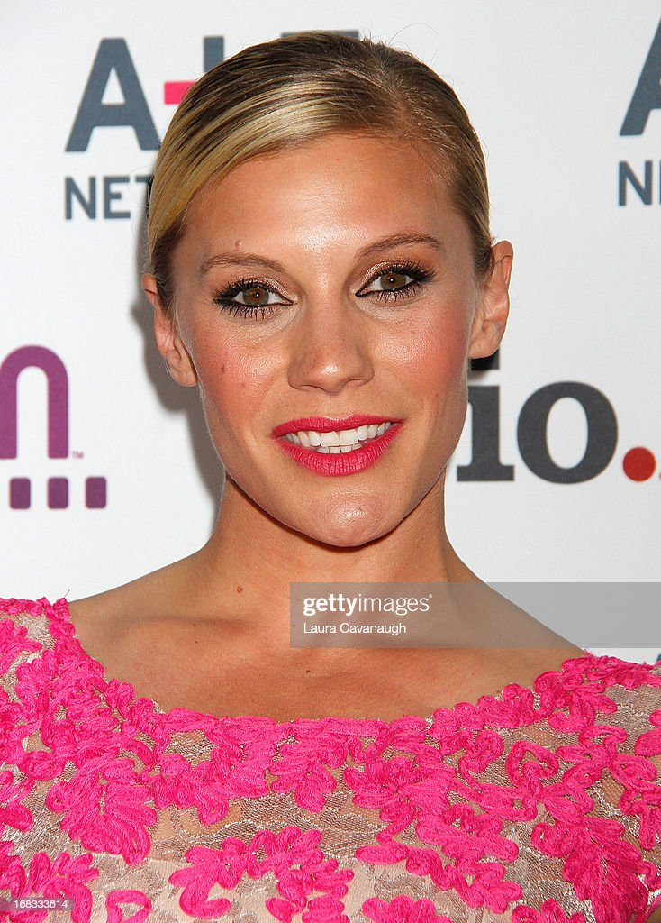 Katee Sackhoff attends A&E Networks 2013 Upfront at Lincoln Center on May 8, 2013 in New York City.