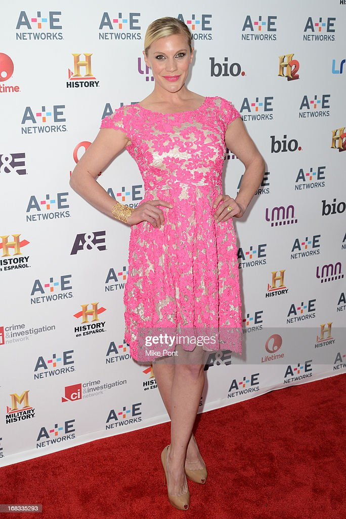 Katee Sackhoff attends A+E Networks 2013 Upfront at Lincoln Center on May 8, 2013 in New York City.
