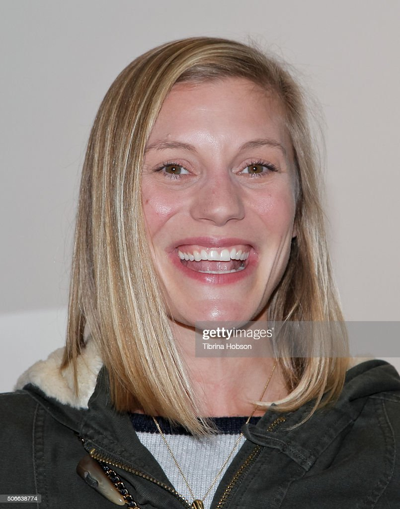 Katee Sackhoff attends Billy Zane's opening night reception for his debut photo exhibit at Leica Gallery Los Angeles on January 23, 2016 in Los Angeles, California.