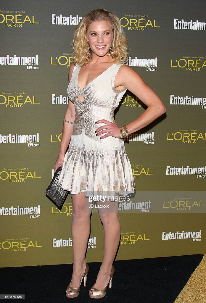 Katee Sackhoff attends the 2012 Entertainment Weekly Pre-Emmy Party at Fig & Olive Melrose Place on September 21, 2012 in West Hollywood, California.