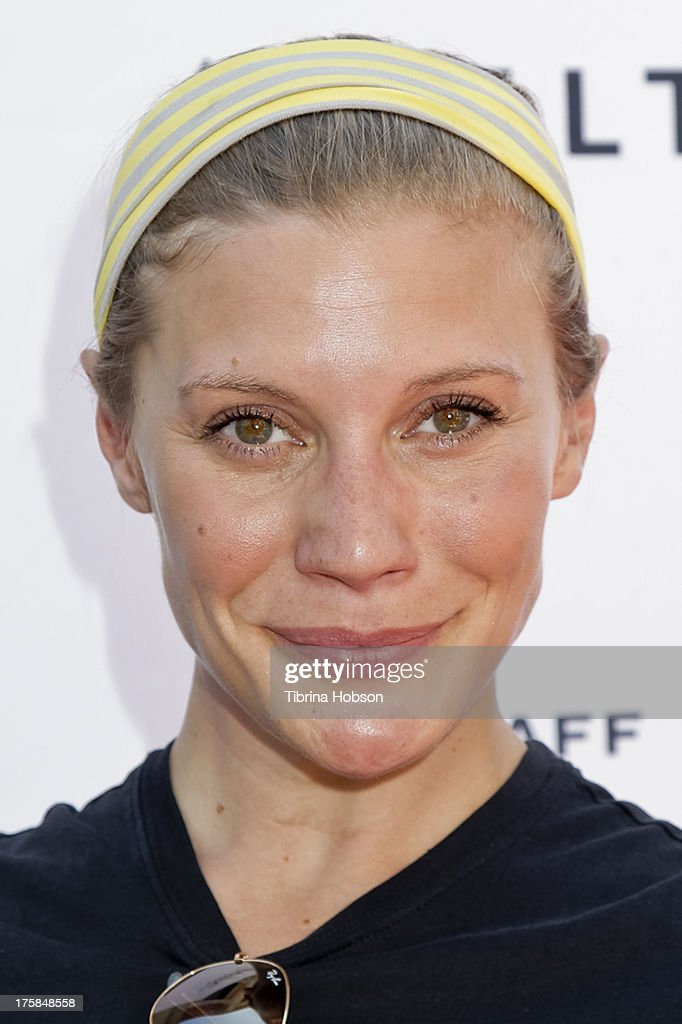 <a gi-track='captionPersonalityLinkClicked' href=/galleries/search?phrase=Katee+Sackhoff&family=editorial&specificpeople=2310579 ng-click='$event.stopPropagation()'>Katee Sackhoff</a> attends the 4th annual Kiehl's LifeRide for amfAR at The Grove on August 8, 2013 in Los Angeles, California.
