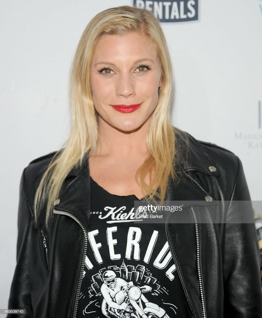 Katee Sackhoff attends the 5th Annual Kiehl's LifeRide for amfAR Finale Celebration on August 12, 2014 in New York City.