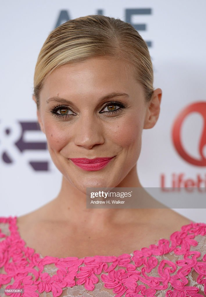 Katee Sackhoff attends the A+E Networks 2013 Upfront on May 8, 2013 in New York City.