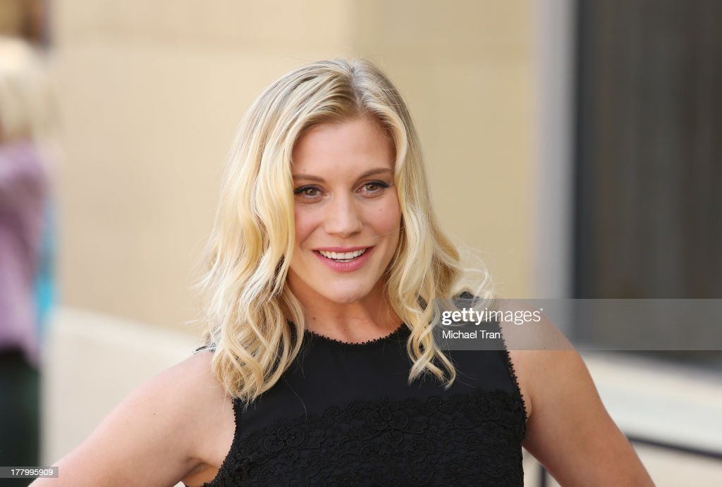 Katee Sackhoff attends the ceremony honoring Vin Diesel with a Star on The Hollywood Walk of Fame held on August 26, 2013 in Hollywood, California.